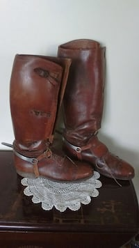 Antique civil war Calvary boots London, 40741
