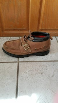 Polo Sport leather boots, size 12D  Clinton, 73601