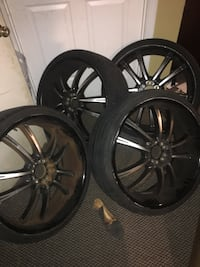 22 rims low profile  Springdale, 20774