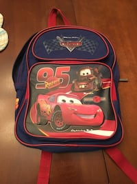 Toddler book bag-cars theme Centreville, 20121