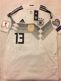 Brand New Germany 2018 World Cup soccer / football jersey with tags