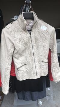white zip-up jacket Clarksburg, 20871