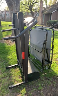 Treadmill is available still Folding bed has been picked up