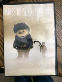 Where the wild things are dvd Pawtucket, 02861