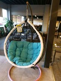 Swing chair in three colors