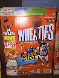 NBA Wheaties boxes