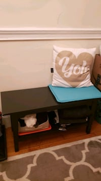 Bench and shoe organizer