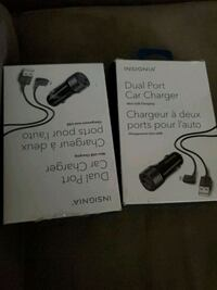 Two dual port car charger with cord $5 bucks each  Edmonton, T5P 2N9