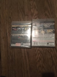 Two sony ps3 game Oshawa, L1H