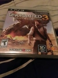 Uncharted 3 drakes deception 3 ps3 game Centerville, 31028