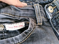 blue denim True Religion bottoms Alessandria