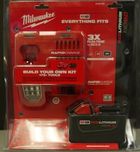 Milwaukee M18 Battery/Charger Kit - BRAND NEW