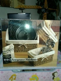 Never used. Baskets