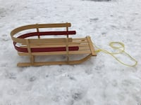 Wooden Baby Sleigh, Excellent Condition Toronto, M6J
