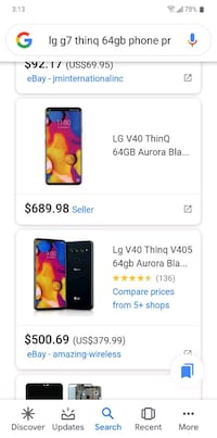 LG G7 ThinQ message if interested Edmonton
