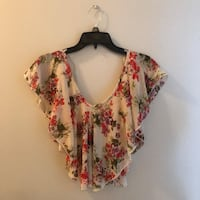 Floral crop top Edinburg, 78539