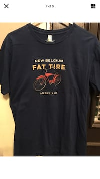 New Belgium Fat Tire Amber Ale tee shirt Ijamsville, 21754
