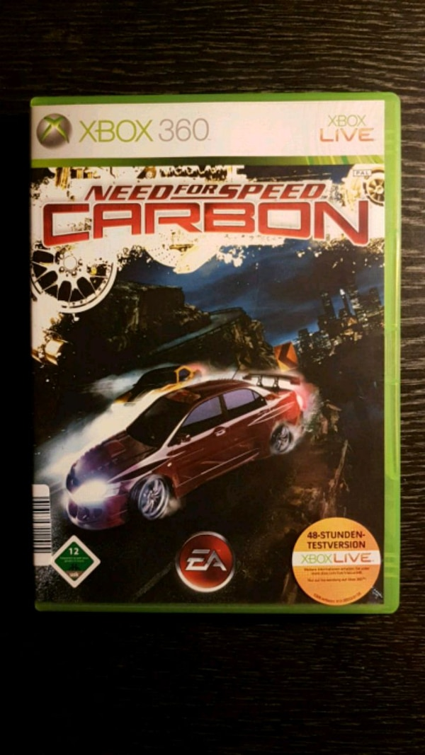 Xbox 360 Spiel - Need for Speed Carbon