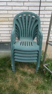 Green Patio Chairs