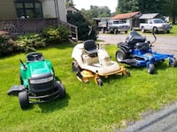 white and blue mowers Mifflinburg, 17844