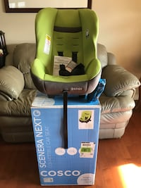(Brand New) Cosco Scenera Next Convertible Car Seat - Lime Punch Green