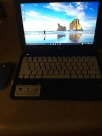 Blue Hp stream laptop with Mouse and charger Phoenix, 85021