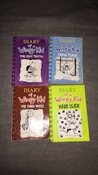 Diary of a wimpy kid series books 5-8 Tallahassee, 32312