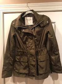 Abercrombie & Fitch Green Jacket- Size: Small Aldie, 20105