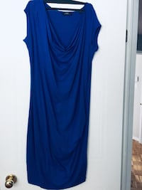 Blue scoop neck sleeveless dress Laval, H7L 5Y7