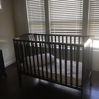 Baby crib. And high chair and playpen  Best offer Fairfax, 22030
