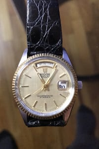VINTAGE RICOH DYNAMIC WIDE DAY DATE AUTOMATIC 21 JEWELS 列治文, V7A 3R5