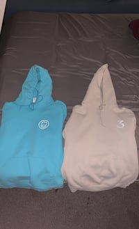 2 medium men's hoodies , V0R 1X5