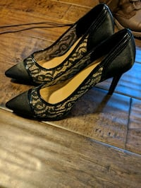 Women's black lace shoes Kitchener, N2A