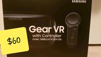 Samsung Gear VR with Controller - Like New