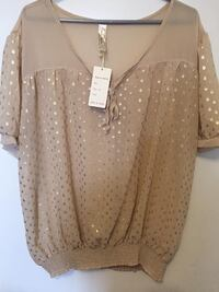 Sheer top new with tag size 3X Toronto