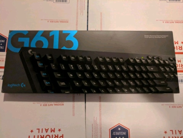 Logitech g613 mechanical wireless keyboard