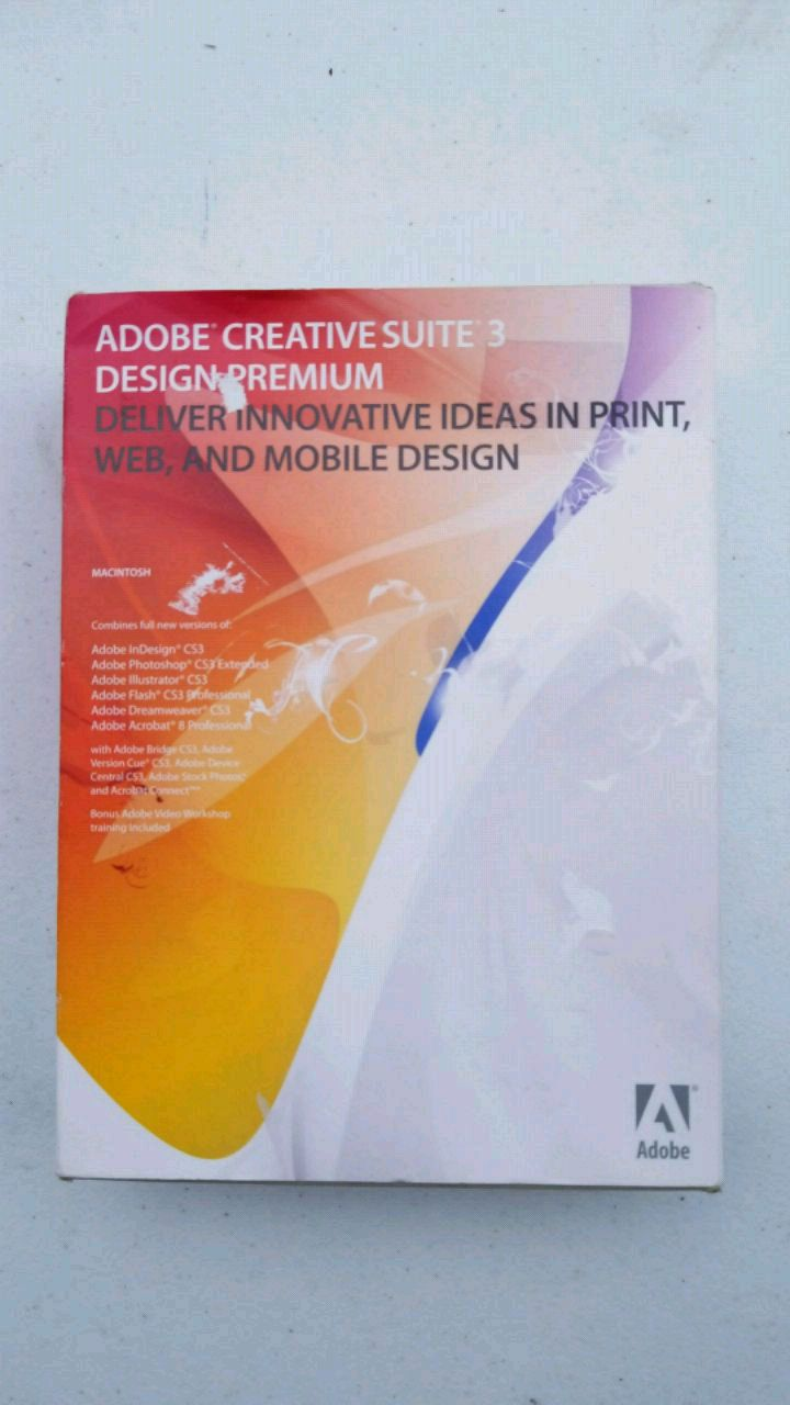Adobe Creative Suite 3 Design Premium for sale