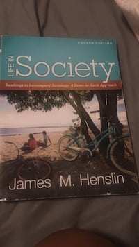 Life in society  fourth edition textbook Moreno Valley, 92551