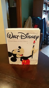 The Art of Walt Disney From Mickey Mouse to the Magic Kingdom - Hardcover Mississauga