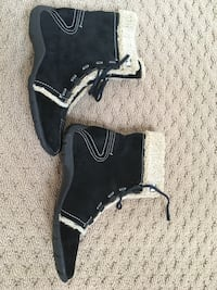 New Naturalizer Black suede boots. 7.5 Potomac, 20854