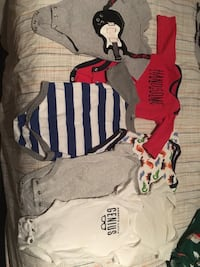Baby boy clothes size 3m and 3-6m Mississauga, L5J 1E1