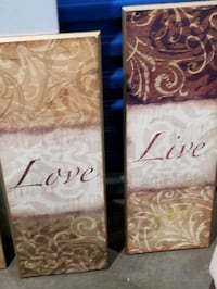 Wall Art, sold separately or together, start $15