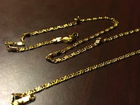 18k gold 20 inch necklace  Tampa, 33612