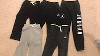 Youth boys sweatpants children's size 10 size 12 large Jordan Gap Puma kids pants clothes  Richboro