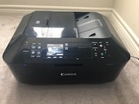 Canon PIXMA MX922 Wireless Color All-in-One Inkjet Office Printer.