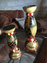 Two candle sticks
