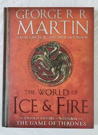 "The Game of Thrones, ""The World of Ice & Fire"" Oakley, 94561"