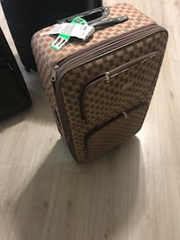 black and gray luggage bag Kitchener, N2A 4L2