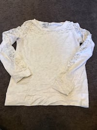 Women's cream colored lace sweater size small Pittsburgh, 15220