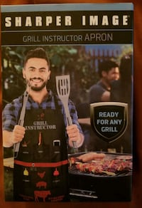 NEW Sharper Image Grill Chef Apron.
